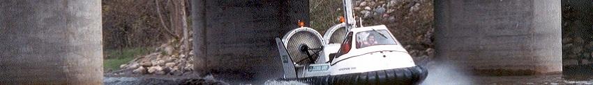Hovertechnics Hoverprobe 2000 Hovercraft