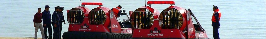 Rescue Hovertechincs Hoverguard 1000 Hovercraft