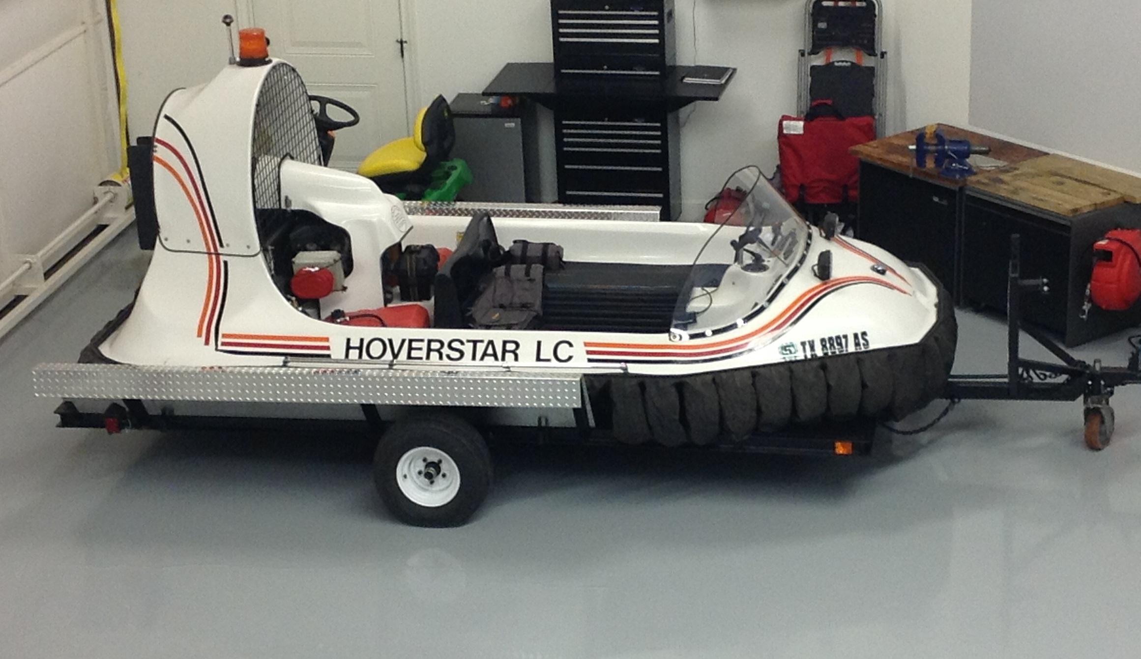 Hovertechnics Hoverstar LC Hovercraft
