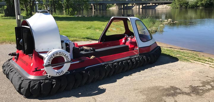 Hovertechincs Hoverguard 700 hovercraft